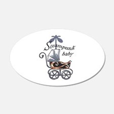 STEAMPUNK BABY Wall Decal