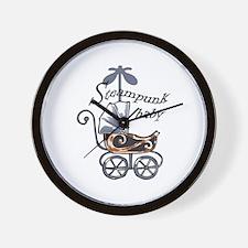STEAMPUNK BABY Wall Clock