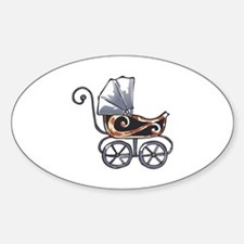 ANTIQUE BABY CARRIAGE Decal