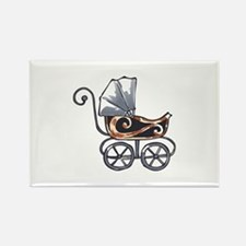 ANTIQUE BABY CARRIAGE Magnets