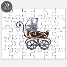ANTIQUE BABY CARRIAGE Puzzle
