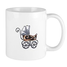 ANTIQUE BABY CARRIAGE Mugs