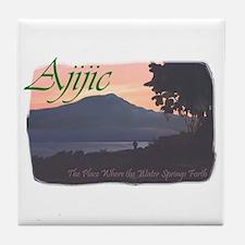 Ajijic, Lake Chapala, Mexico Tile Coaster