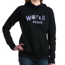 World Peace Women's Hooded Sweatshirt