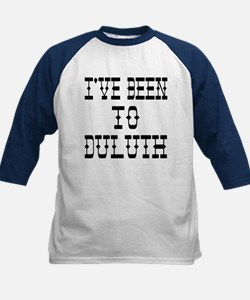 I've Been to Duluth Kids Baseball Jersey