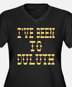 I've Been to Duluth Women's Plus Size V-Neck Dark