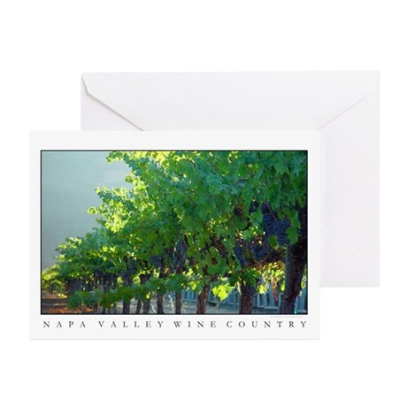 napa valley + wine country Greeting Cards (6)