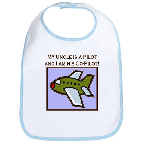 Uncle's Co-Pilot Airplane Bib