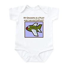 Grandpa's Co-Pilot Airplane Onesie