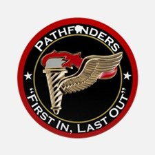 Pathfinders motto Ornament (Round)