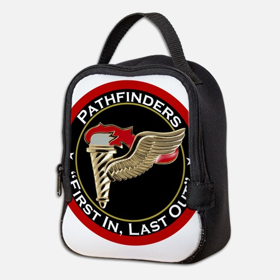 Pathfinders motto Neoprene Lunch Bag