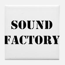 Sound Factory Tile Coaster