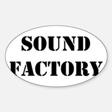 Sound Factory Oval Decal