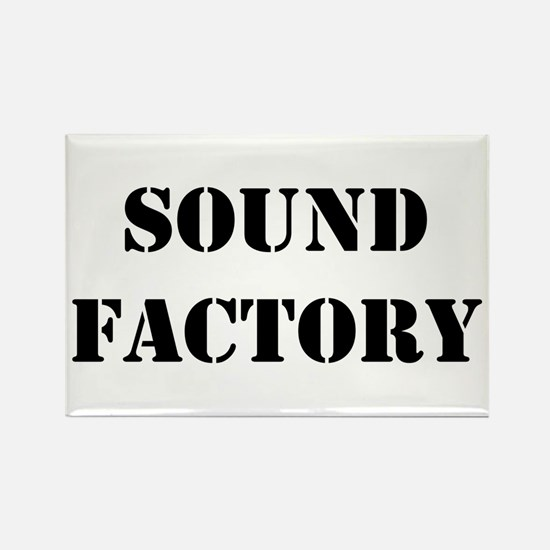 Sound Factory Rectangle Magnet