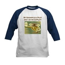 Grandpa's Co-Pilot Helicopter Tee