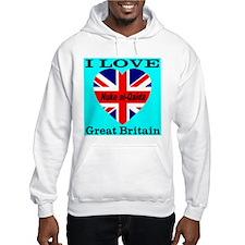 I Love Great Britain Nuke al- Jumper Hoody