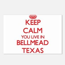 Keep calm you live in Bel Postcards (Package of 8)