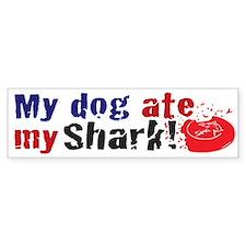 Dogshark Bumper Bumper Sticker