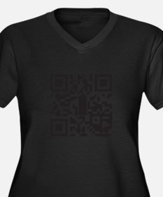 Digital Vanda Plus Size T-Shirt
