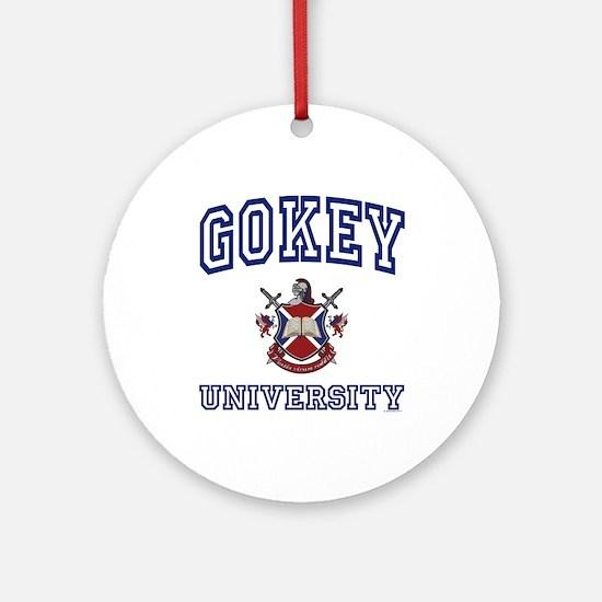 GOKEY University Ornament (Round)