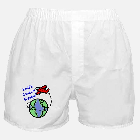 World's Greatest Grandpa Boxer Shorts