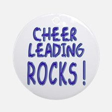 Cheer Leading Rocks ! Ornament (Round)