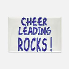 Cheer Leading Rocks ! Rectangle Magnet