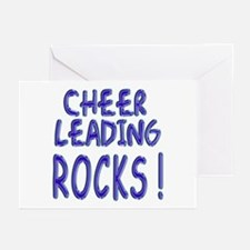 Cheer Leading Rocks ! Greeting Cards (Pk of 10