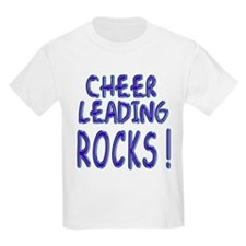 Cheer Leading Rocks ! T-Shirt