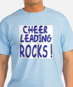Cheer Leading Rocks ! T-Shirt
