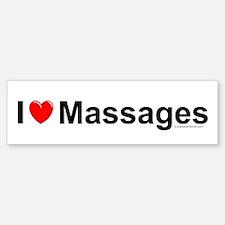 Massages Bumper Bumper Sticker