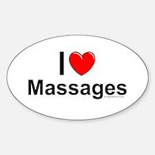 Massages Decal