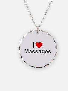 Massages Necklace