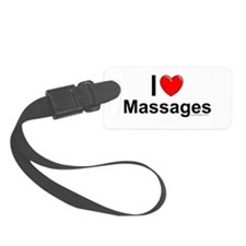 Massages Luggage Tag