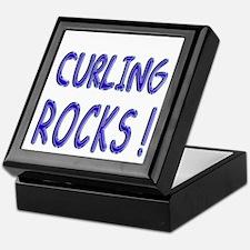 Curling Rocks ! Keepsake Box