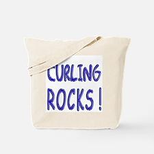 Curling Rocks ! Tote Bag