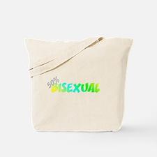 50 Percent Bi-Sexual Tote Bag