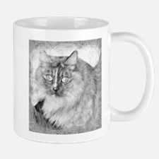 Lavender Lady - Siberian Forest Cat Mugs