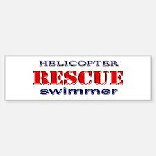 Helicopter Rescue Swimmer Bumper Bumper Bumper Sticker