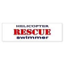 Helicopter Rescue Swimmer Bumper Bumper Stickers