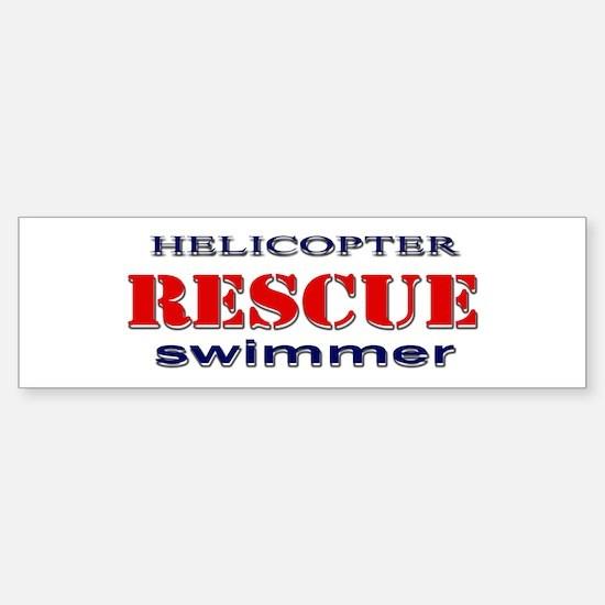 Helicopter Rescue Swimmer Bumper Bumper Stickers
