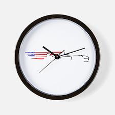 Formula 1 USA Wall Clock
