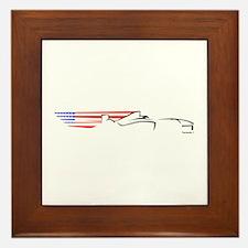 Formula 1 USA Framed Tile