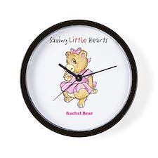 Rachel Bear Wall Clock