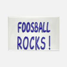 Foosball Rocks ! Rectangle Magnet
