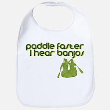 Banjos Paddle Faster Bib
