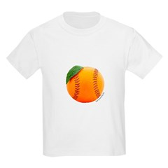 Baseball Orange T-Shirt