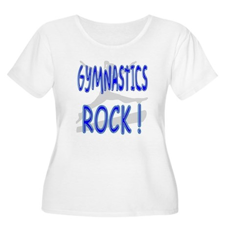 Gymnastics Rock ! Women's Plus Size Scoop Neck T-S