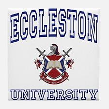 ECCLESTON University Tile Coaster
