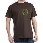 Masons square in a circle Dark T-Shirt